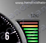 Hand Held Halo Datalogger Skinnable Dashboard